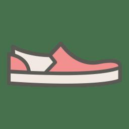 Slip on icon