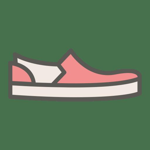 Slip-on icon