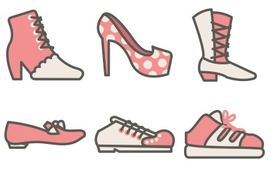 Women Shoes Icons
