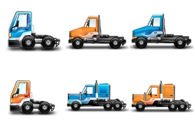 Little Trucks Icons