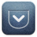 Pocket alt Demin icon