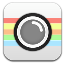 Camera cartoon icon
