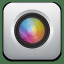 Camera white icon