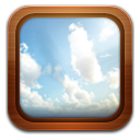 gallery frame sky icon