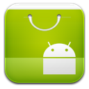 market ics green icon