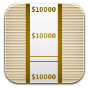 money wrap icon