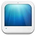 pc white icon