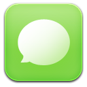 Sms green icon