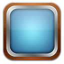 tv blue icon