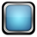 Tv blueblack icon