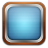 Tv blue icon