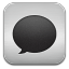 message metal icon