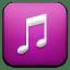 Music purple icon