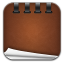 Notepad-leather icon
