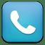 Phone blue icon