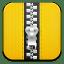 Zip yellow icon