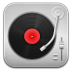 Music-Record-Player-Red icon