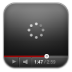 Youtube-black-wait icon