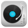Music-Record-Player-Blue icon