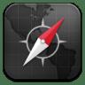 Safari-black icon