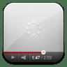 Youtube-white-wait icon
