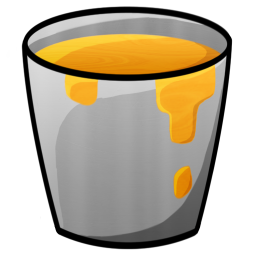 Bucket Lava icon