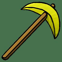 Gold Pickaxe icon