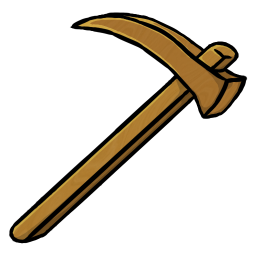 Wooden Hoe icon