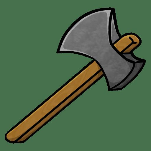Stone Axe Icon Minecraft Iconset Chrisl21