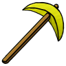 Gold Pickaxe Icon | Minecraft Iconset | ChrisL21