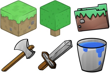 Minecraft Iconset 56 Icons Chrisl21