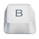 Letter uppercase B icon