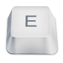 letter uppercase E icon