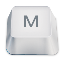Letter uppercase M icon