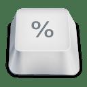 biểu tượng tỷ lệ phần trăm