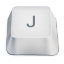 letter uppercase J icon