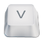 letter uppercase V icon