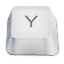 Letter uppercase Y icon