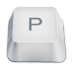 Letter-uppercase-P icon