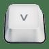 Letter-v icon