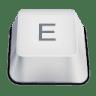 Letter-uppercase-E icon