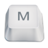 Letter-uppercase-M icon