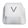 Letter-uppercase-V icon