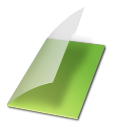 Documents-vide-vert icon