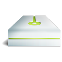 Hdd lime icon