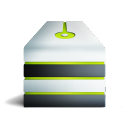 Server allume vert icon