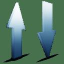 Transfert sky icon