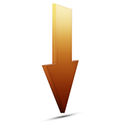 Download orange icon