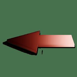 Precedent rouge icon