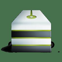 Server eteint vert icon